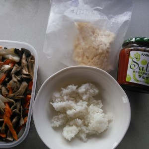 7分で出来る簡単手抜き昼食!